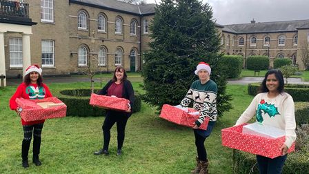 Grassroots volunteer group Thorpe Helping Hands has delivered 35 festive hampers to families in need across the Thorpe St...