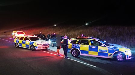 A drug drive stop carried out by Essex Police and colleagues. Picture: Essex Police