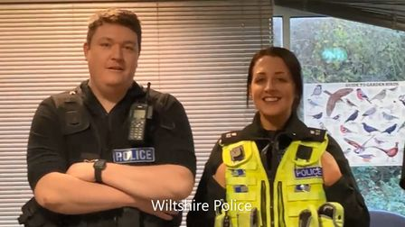 Wiltshire Police officers