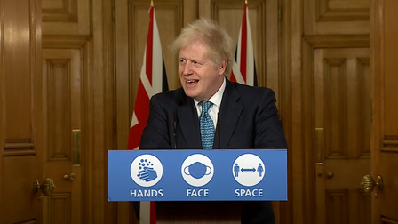 Boris Johnson laughs when asked if UK will get a Brexit deal