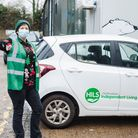 Herts Independent Living Services Christmas meal delivery driver