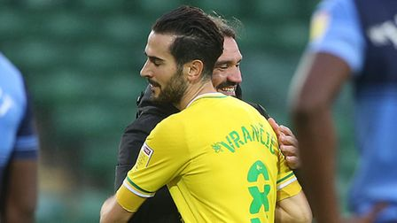 Mario Vrancic is determined to get Norwich City back to the Premier League