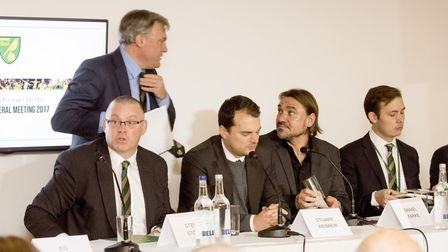 Norwich City chairman Ed Balls and managing director delivered the stark reality regarding the club'