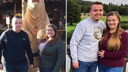 Tom and Emma Cornwell, who are members of the Wisbech Slimming World group, have lost six stone between them since joining...