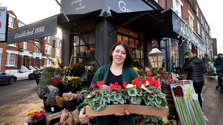 Independent traders HIGHGATEMichelle Mead of greengrocer Greens Of Highgate