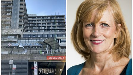 Kate Slemeck is chief executive of the Royal Free Hospital.