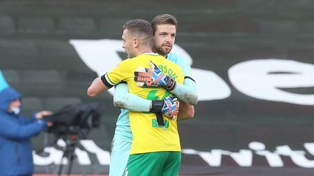Ben Gibson and Tim Krul have missed Norwich City recent Championship wins through injury