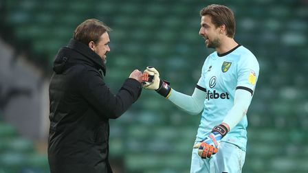 Tim Krul also missed out on Player of the Month, with Brentford striker Ivan Toney winning the award