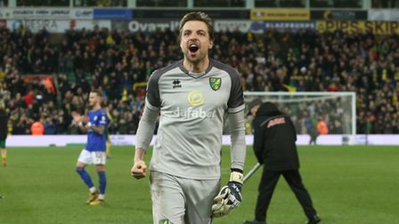 Tim Krul has emerged as a Norwich City hero this season. Picture: Paul Chesterton/Focus Images Ltd