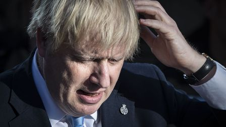 File photo dated 05/09/19 of Prime Minister Boris Johnson making a speech during a visit to West Yor