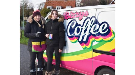 Judith Walker Brown and her daughter Isobelle have set up a coffee soup takeaway business takeaway business in Pakefield...