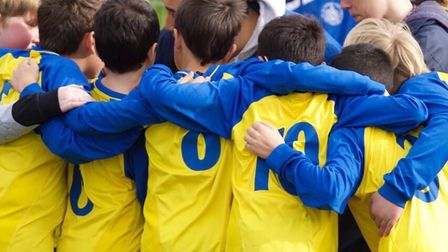 One of the many St Albans City Youth teams, the U13 inclusive side.