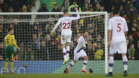 Connor Wickham of Crystal Palace