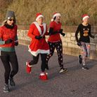 Christmas Day runners from Axe Valley