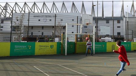 Norwich City's Carrow Road stadium has not hosted football since the end of February due to the coro