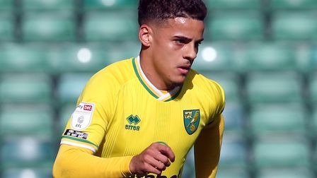 Barcelona have joined a long list of clubs linked with Canaries right-back Max Aarons Picture: Pau