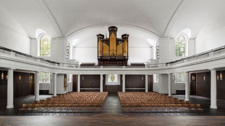 Designer John Pawson and architects Thomas Ford and Partners have restored St Johnat Hackney.