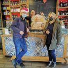 Rudy Siano, of Cuore Italian Deli, donated hampers to Kensal's 'Love Local' online auction