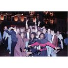 New Year celebrations on the Cornhill in Ipswich in 1989