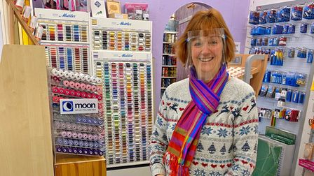 Julie Steeples of Sidmouth Fabrics