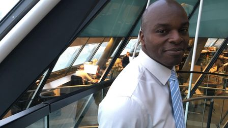 Shaun Bailey at City Hall. Picture: Jon King