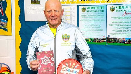 Sidmouth Running Club chairman Terry Bewes