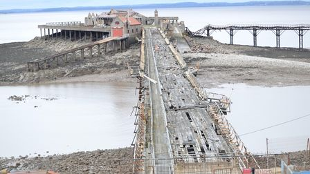 North Somerset Council has issued CNM Estates with a repairs notice to improve Birnbeck Pier. Pictur