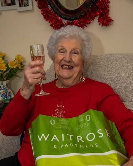 Cilla Williams from Sidmouth had a free shopping order from Waitrose