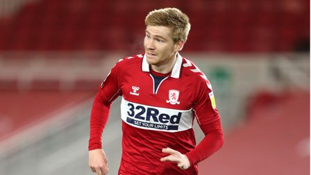 Middlesbrough's Duncan Watmore during the Sky Bet Championship match at the Riverside Stadium, Middl