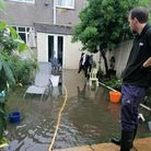 Griselda Konti's home in South Hornchurch was flooded with sewage and rain water, they bought their
