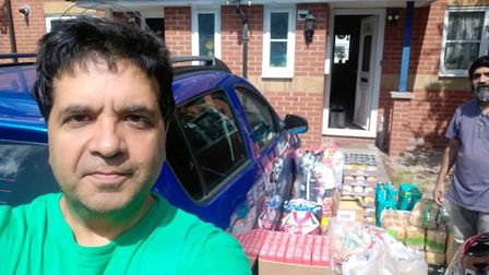 Through the work of the Sewa Day charity Ravi and others have donated thousands of meals a week to homeless and vulnerable...