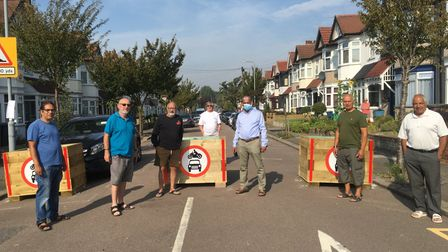 A group of residents in Barkingside were strongly opposed to the Quiet Streets scheme. Picture: Roy