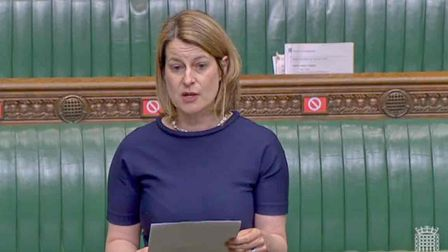 Helen Hayes in the House of Commons