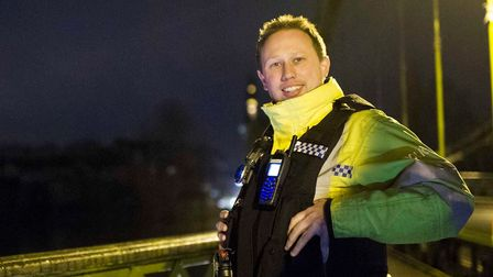 Devon and Cornwall Police Special Constable Simon Richardson