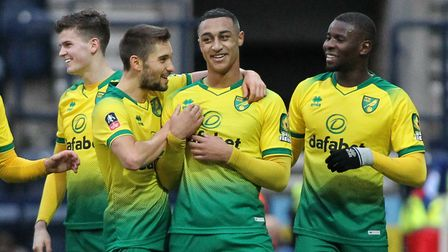 Adam Idah notched a hat-trick on his Norwich City FA Cup debut in a 4-2 win against Preston Pictur