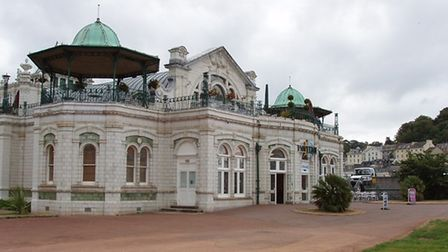 The exterior of Torquay Pavilion