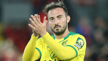Josip Drmic has confirmed he is in talks with Norwich City over his future. Picture: Paul Chestert