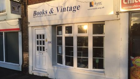 Books & Vintage is ready to welcome customers once the Covid restrictions allow