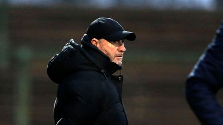 Gary Johnson Manager of Torquay United during the National League Match between Yeovil Town and Torq