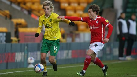 Todd Cantwell had to deal with transfer speculation on his Norwich City future in the summer