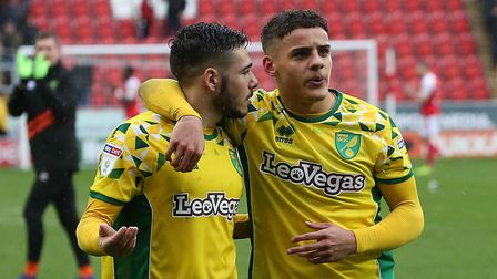 Norwich City duo Emi Buendia and Max Aarons are two of the hottest properties in the Championship
