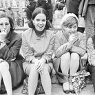 Young people on an anti-capitalist demonstration in London, 1968. Picture: Getty Images