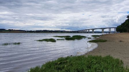 Nacton Shores is a great place to go for a walk and get some fresh air at all times of year