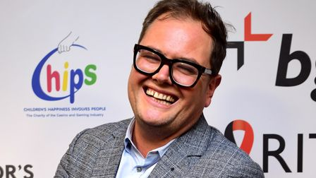 Alan Carr during the 15th BGC annual charity day at Canary Wharf in London, in commemoration of BGC'
