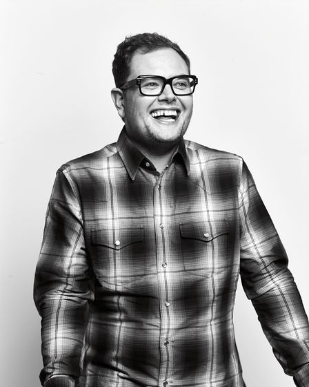 Alan Carr's latest stand-up tour is coming to Norwich Theatre Royal this autumn.