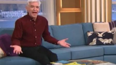 Phillip Schofield on ITV's This Morning