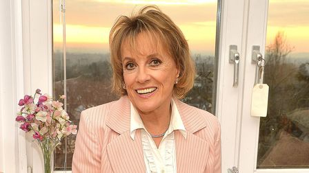Esther Rantzen at her Hampstead home after she was made a Dame in the New Year Honours 2015.