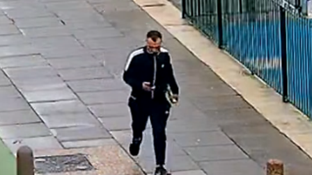 CCTV image of a man in Ipswich