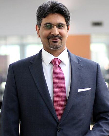 Head of Newham Sixth Form College, Mandeep Gill. Picture: NewVic