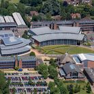 RoCRE. Aerial photograph courtesy of Rothamsted Research.